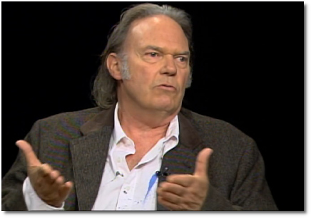 Neil Young with Charlie Rose (17 July 2008)