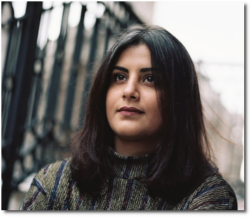 29-year-old Saudi Loujain al-Hathloul in London in 2017
