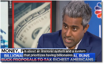 Anand Giridharadas joins Stephanie to discuss the immorality of a socioeconomic SYSTEM that prioritizes Billionaires over things Health Care and Education for the Public Good (12 Feb 2019)