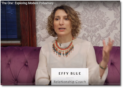 Brooklyn-based relationship coach Effy Blue says that society's idea of finding one person to satisfy all your needs and desires is a big, fat fantasy (New York Magazine, 14 Feb 2019)