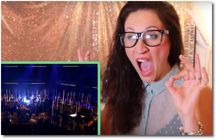 Rebecca the vocal athlete reacting to God is a Woman (20 Dec 2018).