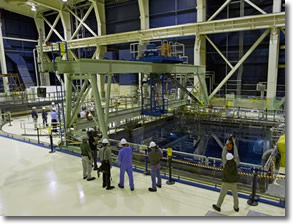 Spent Fuel Pool on Refuel Floor Brown Ferry Nuclear Plant