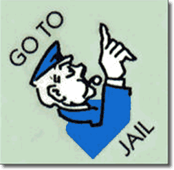 Go to Jail - Monopoly
