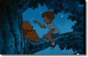 Christopher Robin to Pooh: You're braver than you believe, Promise me you'll always remember