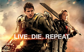 Edge of Tomorrow | Live. Die. Repeat.