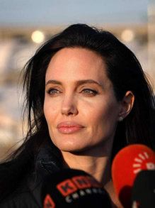 Angelina Jolie Pitt Raises Cancer Awareness