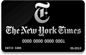NY Times Business Card