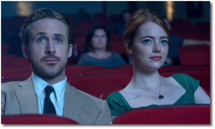 At the movies in La La Land