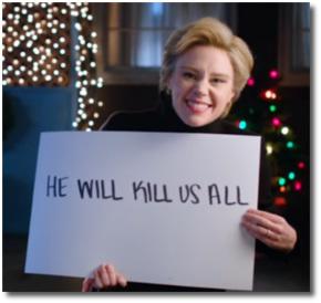 SNL skit Dec 17 | He will kill us all