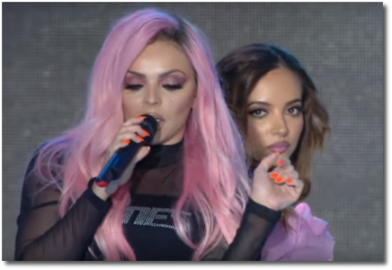 Jesy and Jade singing Touch Summertime Ball June 10, 2017