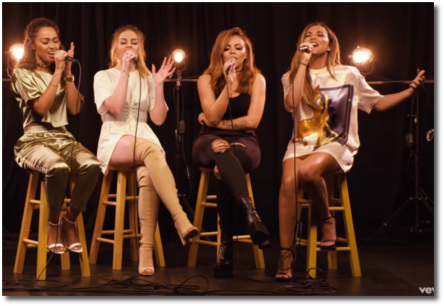 Little Mix acoustic version of 'Touch' Feb 13, 2017