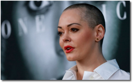 Rose McGowan says that Harvey Weinstein raped her