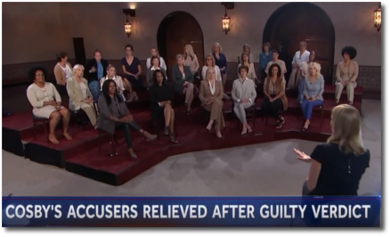 Bill Cosby found guilty on all counts of sexual assault (26 April 2018)