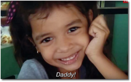 Audio recording of immigrant child crying for her daddy